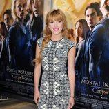 Bella Thorne en el estreno de 'Cazadores de Sombras: Ciudad de Hueso' en Los Ángeles