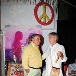 Fernando Martínez de Irujo en la fiesta Flower Power de Ibiza 2013