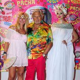 Marc Ostarcevic en la fiesta Flower Power de Ibiza 2013