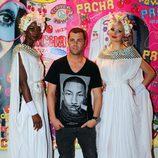 Fonsi Nieto en la fiesta Flower Power de Ibiza 2013