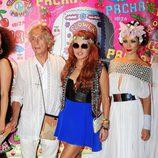 Paulina Rubio en la fiesta Flower Power de Ibiza 2013