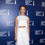 Amber Heard en el almuerzo de la Asociación de la Prensa Extranjera de Hollywood