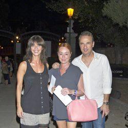 Maribel Verdú, Gracia Querejeta y Pedro Larrañaga en el estreno de 'La Corte del Faraón'