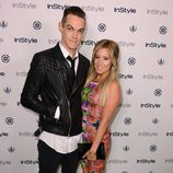 Ashley Tisdale y Christopher French en la InStyle Summer Soiree