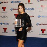 Eva Longoria en la entrega de los Premios Tu Mundo 2013