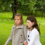 Ingrid de Noruega y Maud Behn en el 40 cumpleaños de Mette-Marit de Noruega