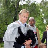 Marius Borg en el 40 cumpleaños de Mette-Marit de Noruega