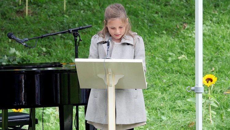 Ingrid de Noruega en la celebración del 40 cumpleaños de Mette-Marit de Noruega