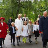 La Familia Real de Noruega en la celebración del 40 cumpleaños de Mette-Marit de Noruega