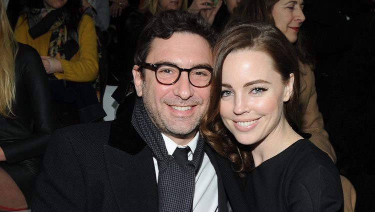 Melissa George con su novio Jean-David Blanc