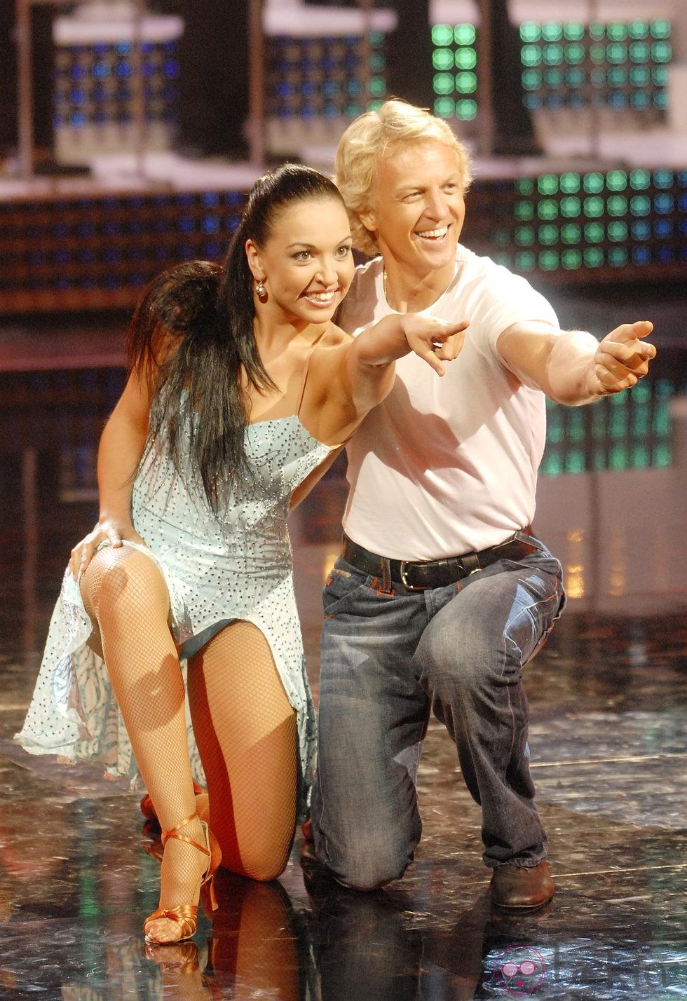 Álvaro Bultó durante su participación en 'Mira quién baila'