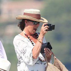 La Princesa Carolina de Mónaco, como una turista más en Saint-Tropez