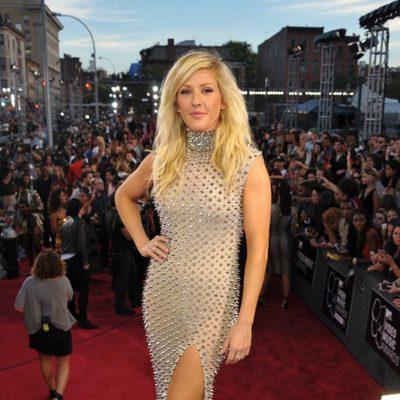 Ellie Goulding en la alfombra roja de los MTV Video Music Awards 2013