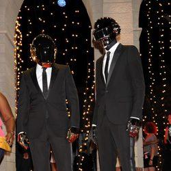 Daft Punk en la alfombra roja de los MTV VMA 2013