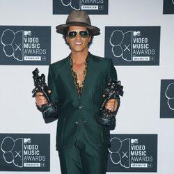 Bruno Mars galardonado en los MTV VMA 2013