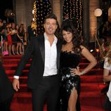 Robin Thicke y Paula Patton en los MTV VMA 2013