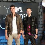 Timeflies en la alfombra roja de los MTV VMA 2013