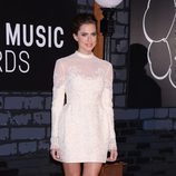 Allison Williams en la alfombra roja de los MTV VMA 2013
