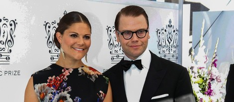 Victoria y Daniel de Suecia en los Premios Polar Music 2013