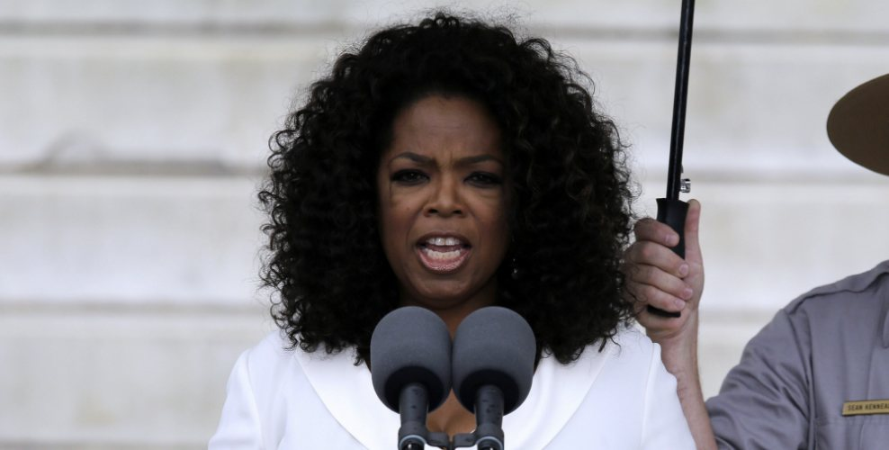 Oprah Winfrey conmemora a Martin Luther King