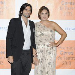 Estrella Morente y Javier Conde en los Premios Ceres 2013