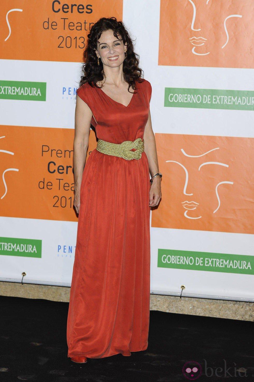Silvia Marsó en los Premios Ceres 2013