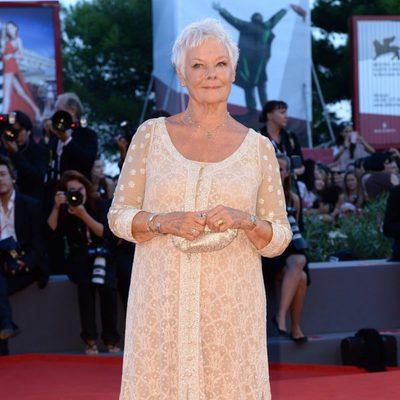 Judi Dench en el estreno de 'Philomena' en la Mostra de Venecia 2013