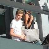 Brooklyn Beckham a su llegada a Londres tras pasar unas vacaciones en Los Angeles