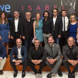 El reparto de 'Isabel' presenta la segunda temporada en el FesTVal de Vitoria 2013