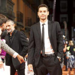 Álex Martínez en el estreno de la segunda temporada de 'Isabel' en el FesTVal de Vitoria 2013