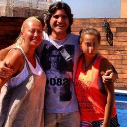 Belén Esteban, Toño Sanchís y Andrea Janeiro