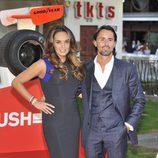 Tamara Ecclestone y Jay Rutland en el estreno de 'Rush'