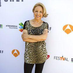Susi Díaz en la presentación de 'Top Chef' en el FesTVal de Vitoria 2013