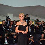 Scarlett Johansson en el estreno de 'Under the Skin' en la Mostra de Venecia 2013