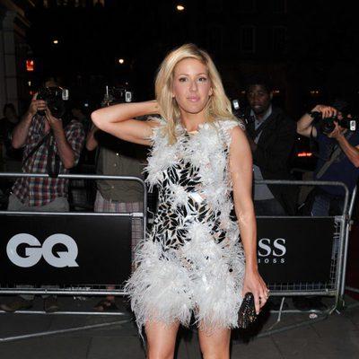 Ellie Goulding en los Premios del Año GQ Men 2013 en Londres