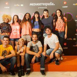 El reparto de 'Dreamland' en la presentación de la serie en el FesTVal de Vitoria 2013