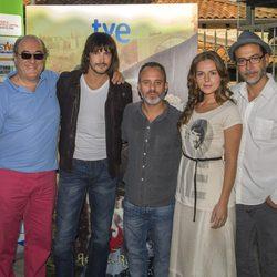 El reparto de 'Águila Roja' presenta los nuevos capítulos en el FesTVal de Vitoria 2013