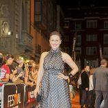 Aitana Sánchez Gijón en el estreno de 'Galerías Velvet' en el FesTVal de Vitoria 2013