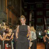 Manuela Velasco en el estreno de 'Galerías Velvet' en el FesTVal de Vitoria 2013