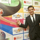 Maxi Iglesias durante el estreno de 'Galerías Velvet' en el FesTVal de Vitoria 2013