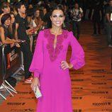 Paula Echevarría en el estreno de 'Galerías Velvet' en el FesTVal de Vitoria 2013