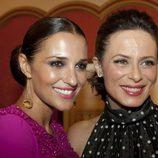 Paula Echevarría y Aitana Sánchez Gijón en el estreno de 'Galerías Velvet' en el FesTVal de Vitoria 2013