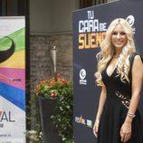Edurne en la presentación de 'Tu cara me suena' en el FesTVal de Vitoria 2013