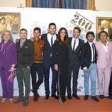 El reparto de 'Aída' en el estreno del capítulo 200 en el FesTVal de Vitoria 2013