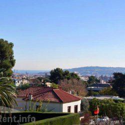 Vistas de Barcelona desde la casa de Pedralbes de los Duques de Palma