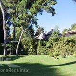 Jardín de la casa de Pedralbes de los Duques de Palma