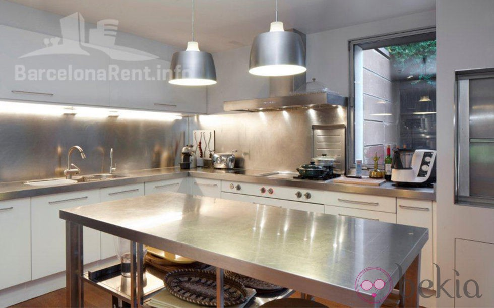 Cocina de la casa de Pedralbes de los Duques de Palma