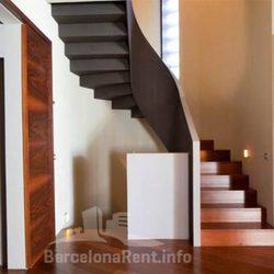 Escaleras de la casa de Pedralbes de los Duques de Palma