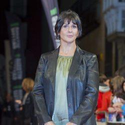 Elvira Mínguez en el estreno de 'El Tiempo entre Costuras' en el FesTVal de Vitoria 2013