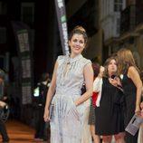Adriana Ugarte en el estreno de 'El Tiempo entre Costuras' en el FesTVal de Vitoria 2013